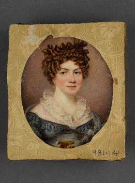 Portrait miniature of a Lady