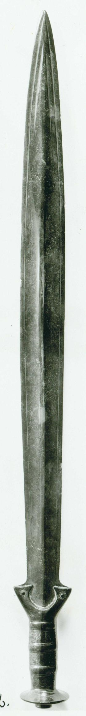 Early Hallstatt A type sword blade