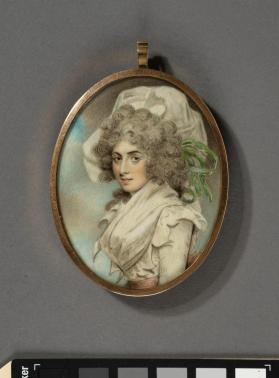 Portrait miniature depicting Sarah Siddons (Welsh actress, 1755-1831)