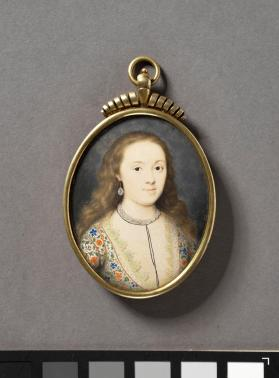 Portrait miniature depicting Lady Arabella Stuart (1575-1615)