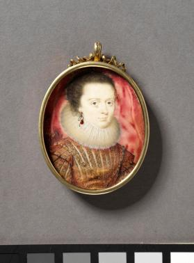 Portrait miniature depicting Elizabeth, later Queen of Bohemia (1596-1662)