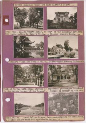 "Leaf 22, album 1 (""Marine Lynx, Hangchow, China and other family trips"")"