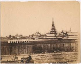 View of Amarapura or Mandalay