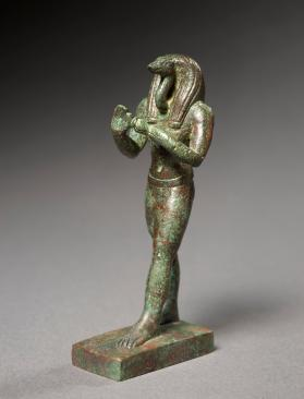 Statuette of standing Thoth