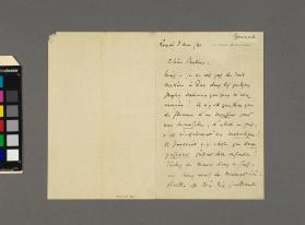 Autograph letter to 'Pauline' from Charles Gounod