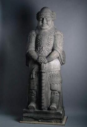 Funerary figure of military official