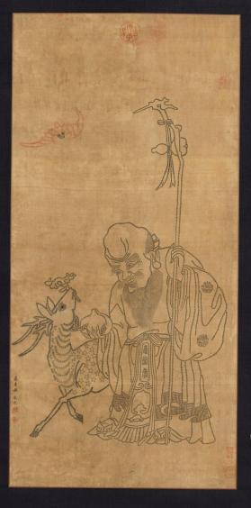 God of Longevity 壽星圖