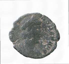 Posthumous coin honouring Theodora, second wife of Constantius I