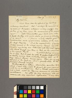 Autograph letter to Alfred Pettet Esq. from William Shield