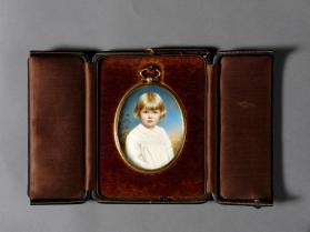 Portrait miniature case
