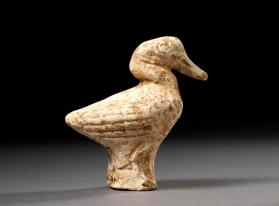 Burial figure of a duck