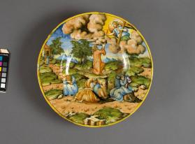 "Plate, ""The Agony in the Garden"""