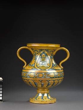Two handled betrothal jar (vaso nuziale)