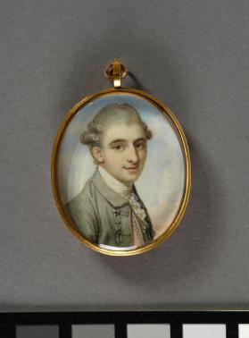 Portrait miniature depicting George Capel, 5th Earl of Essex (1757-1839)