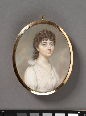 Portrait miniature of Mary Fraser