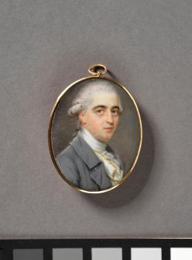 Portrait miniature depicting William Woodroffe Guidot