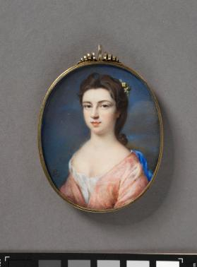 Portrait miniature of Anne, Princess Royal and Princess of Orange (1709-1759)