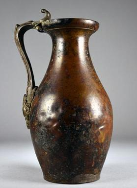 Jug with Medusa head handle