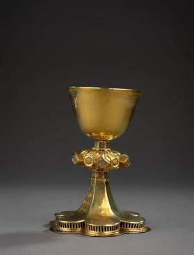 Chalice with six-lobed foot