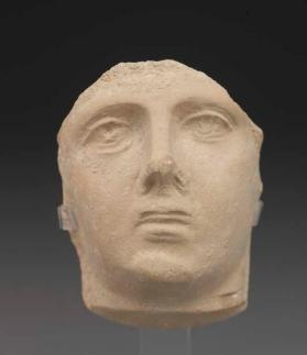 Face from a fragmentary figure