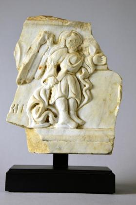 Relief fragment with angel