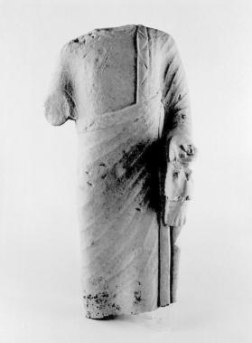 Fragmentary figure of a male votary