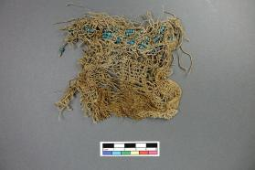 Beaded textile fragment