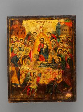 Icon of the Dormition of the Mother of God (Koimesis)