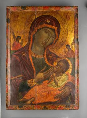 "Icon of ""The Milk-Giving Mother of the Saviour"" Galaktotrophousa (Lactant)"