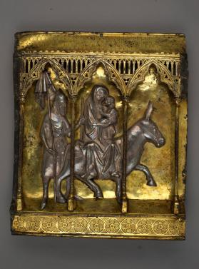 Relief panel depicting the Flight into Egypt