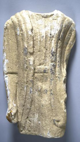 Fragmentary mid-section of a votive figure