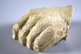 Hand from a fragmentary votive figure