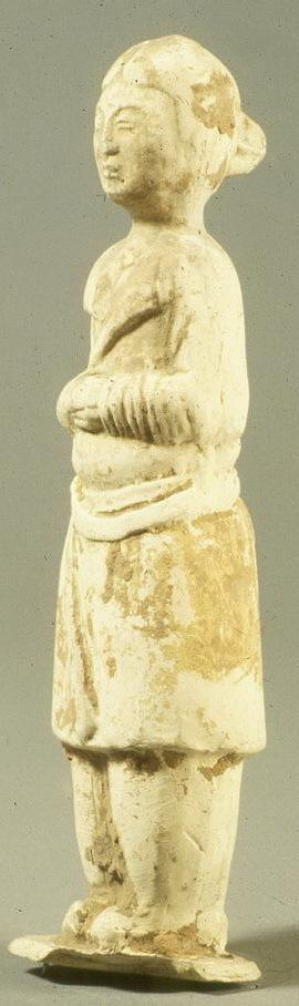 Burial figure of a foreign male attendant