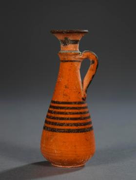 Small jug of Red-on-black ware