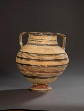 Amphora of Bichrome ware