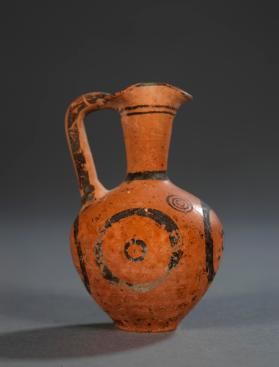 Small jug of Cypriot Black-on-Red ware