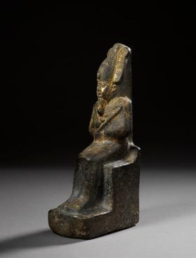 Statuette of seated Osiris