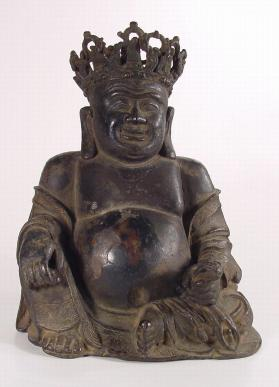 Figure of Budai, the Monk with the Cloth Bag