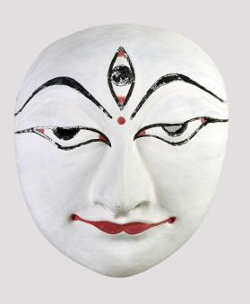 Seraikella Chhau Dance Mask of Shiva
