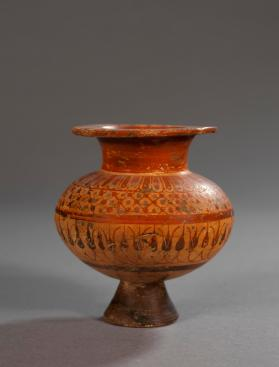Etruscan Lydion (perfume jar) with patterns in the 'Pontic' style