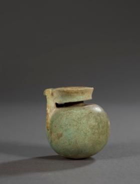 East Greek aryballos made of faience