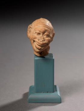 Head from the fragmentary figure of an elderly man