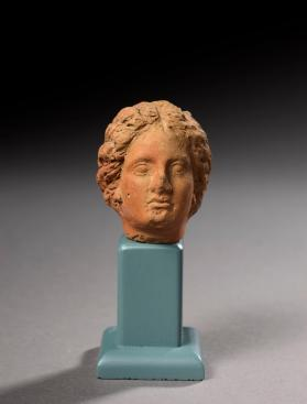Head from the fragmentary figure of a woman