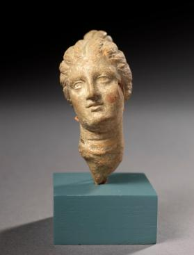 Head from the fragmentary figure of a young woman
