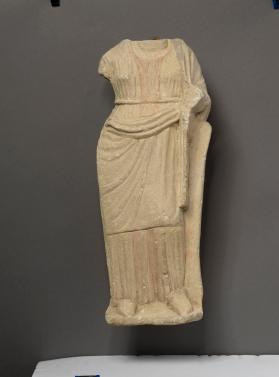 Fragmentary figure of draped woman