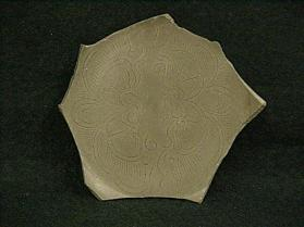 Yue ware vessel fragment (base sherd)