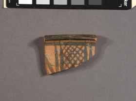 Rim fragment from a skyphos