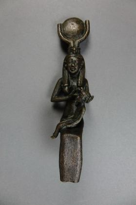 Figure of Isis and Horus