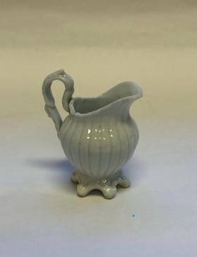 Cream pitcher, miniature