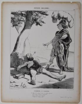 Alexandre et Diogène, Plate 20 from Histoire Ancienne